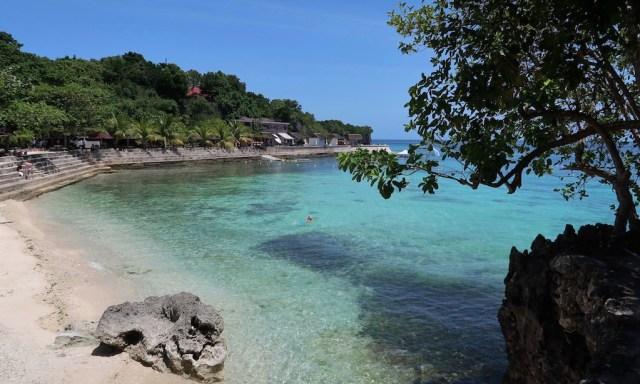 Das Salagoong Beach in wunderschönem Türkisblau