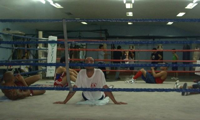 Boxhalle im Rizal Memorial Sport Complex