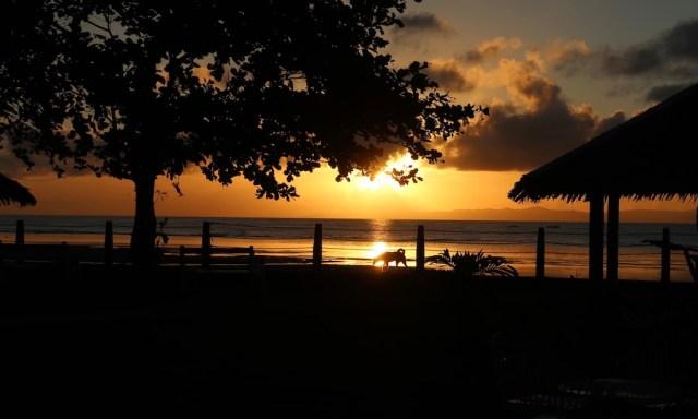 Sonnenaufgang Sta. Monica Beach Club in Dumaguete