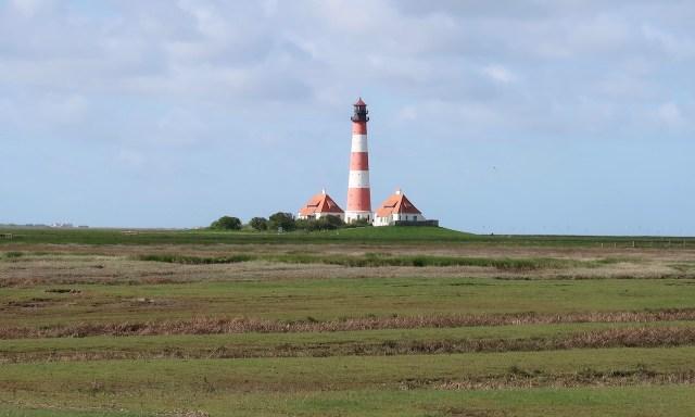 Der prächtige Leuchtturm Westerheversand