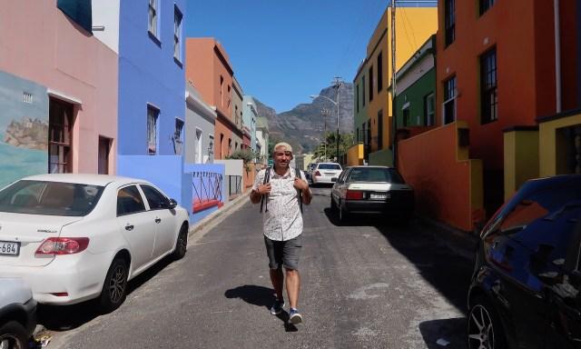 Bendja in den Seitenstraßen des Bo-Kaap Viertels