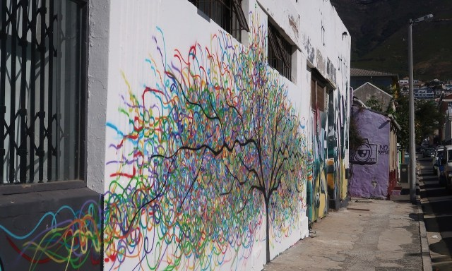 Streetart Baum Woodstock