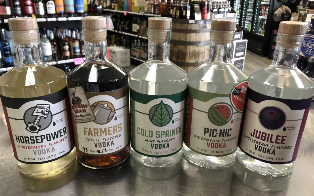 Oregon Grain Growers Vodka