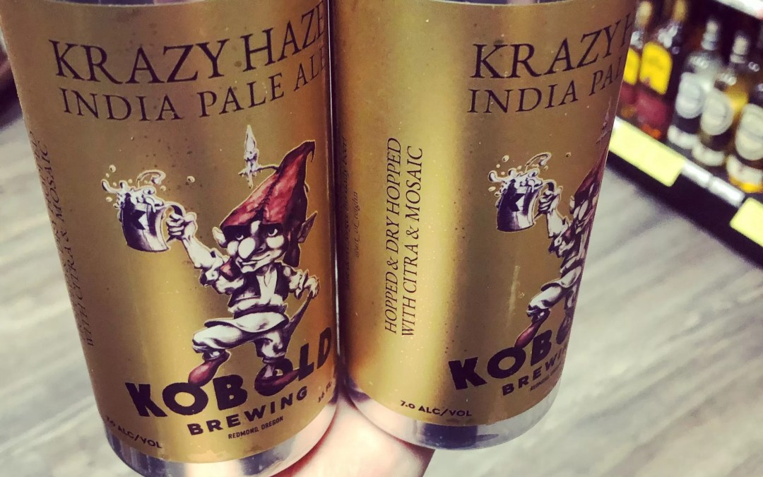 New Kobold Brewing Krazy Haze IPA