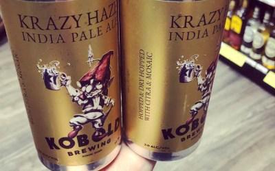 New Kobold Brewing Krazy Haze IPA