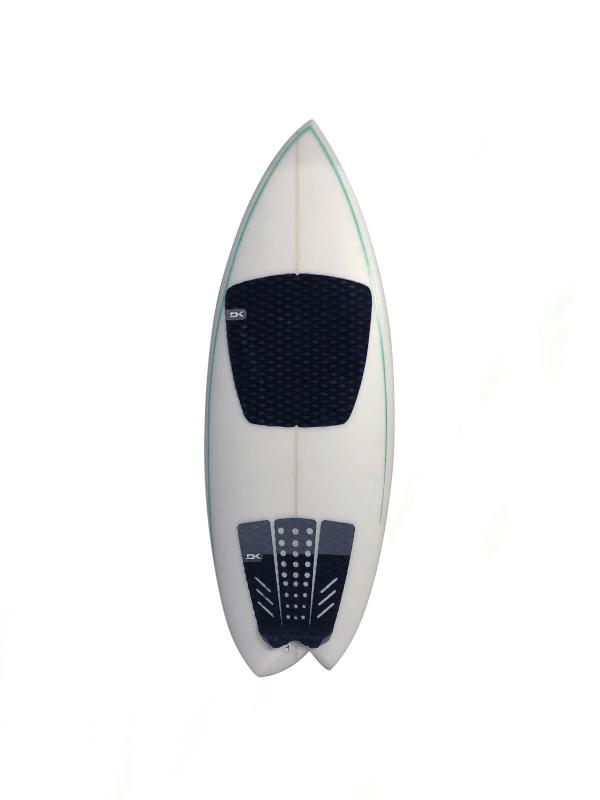 Asymmetrical Surfboard