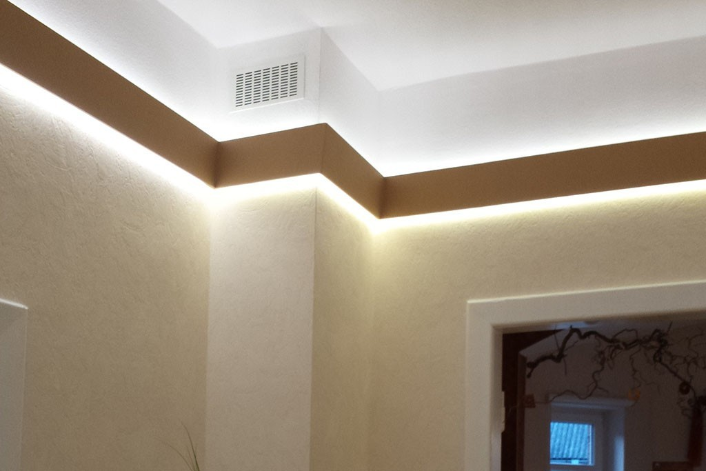 stucco for indirect lighting wdml
