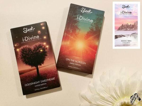 Limited Sleek i-Divine Palettes
