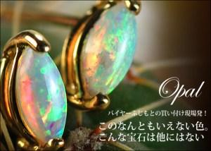このなんともいえない色。こんな宝石は他にはない!!