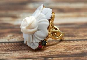 【フルオーダー例】薔薇の香り、薔薇そのものの美しさをジュエリーにデザイン。