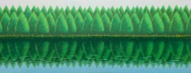 【開催終了】田中恵子 絵画展「グリーントルマリンの森 変奏曲」リアルとファンタジーの狭間。その空気感を持つ絵画と宝石。
