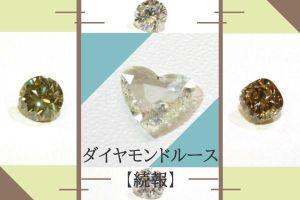 手にするなら、今!ダイヤモンドルースを一度にご覧いただけるチャンス :続報