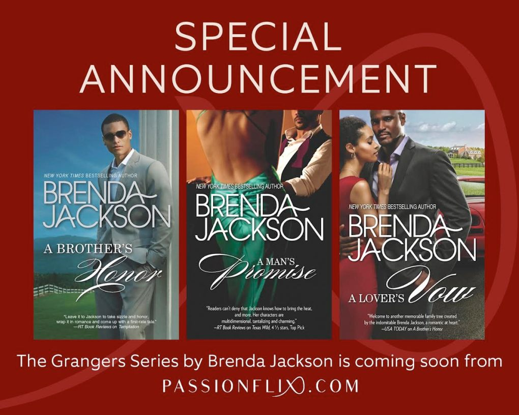 Brenda Jackson announcement