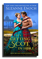 it's getting scot in here
