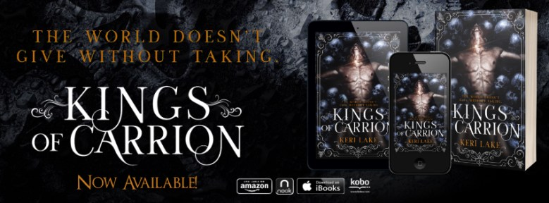 Kings of Carrion Now Available FB Banner