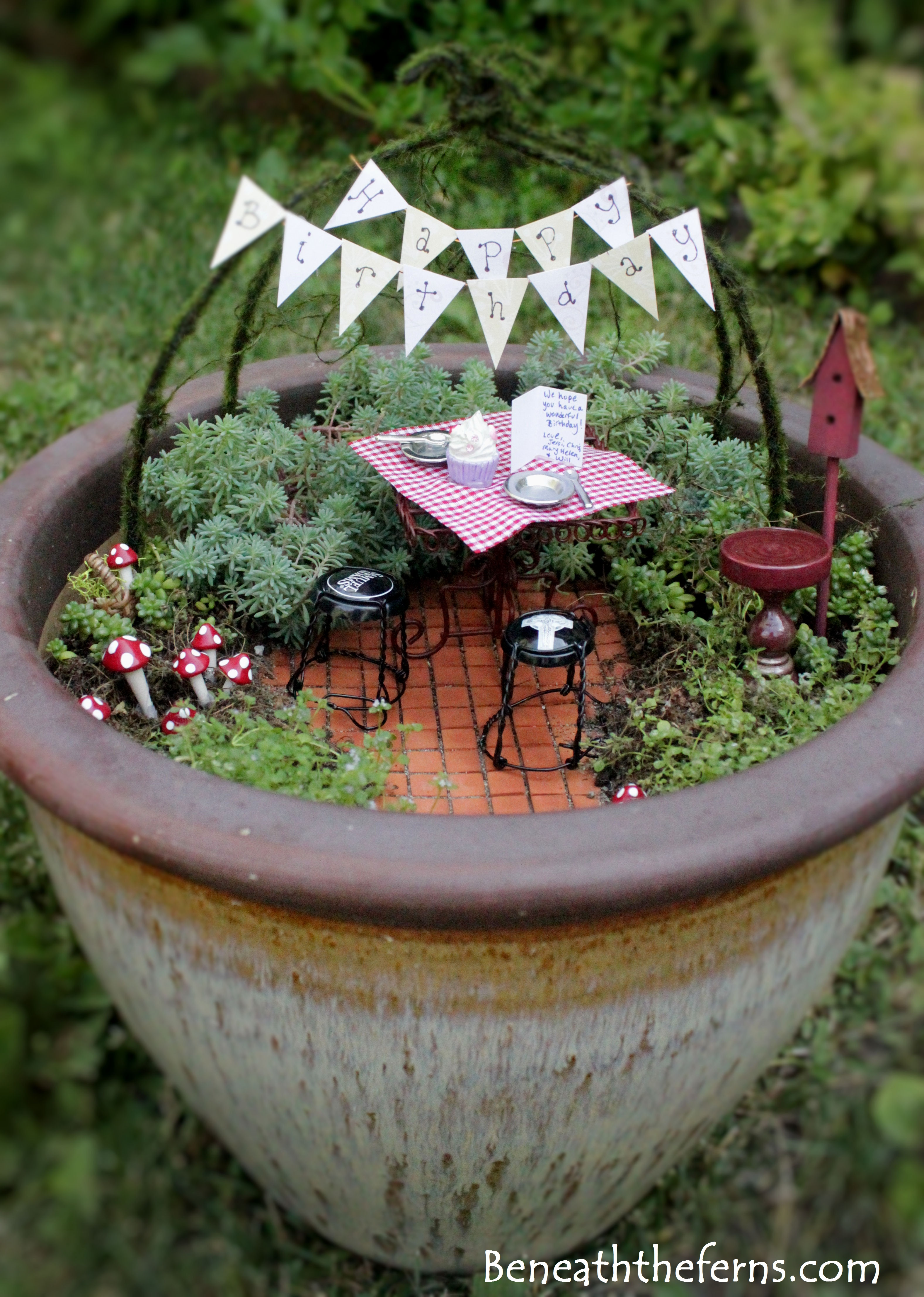 Birthday Fairy Garden Entry 3 For Contest From