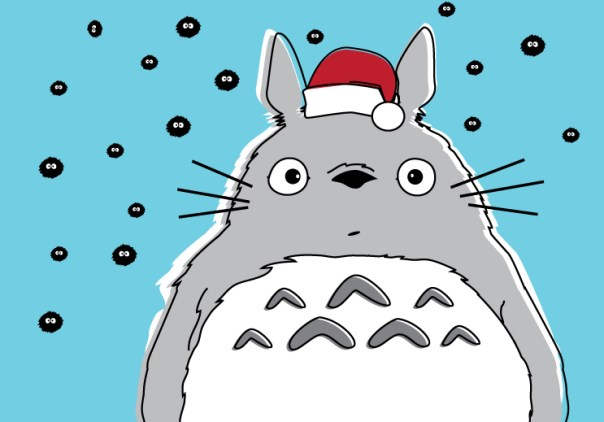 My Neighbor Totoro Christmas Card