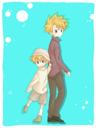Digimon Takeru and Yamato