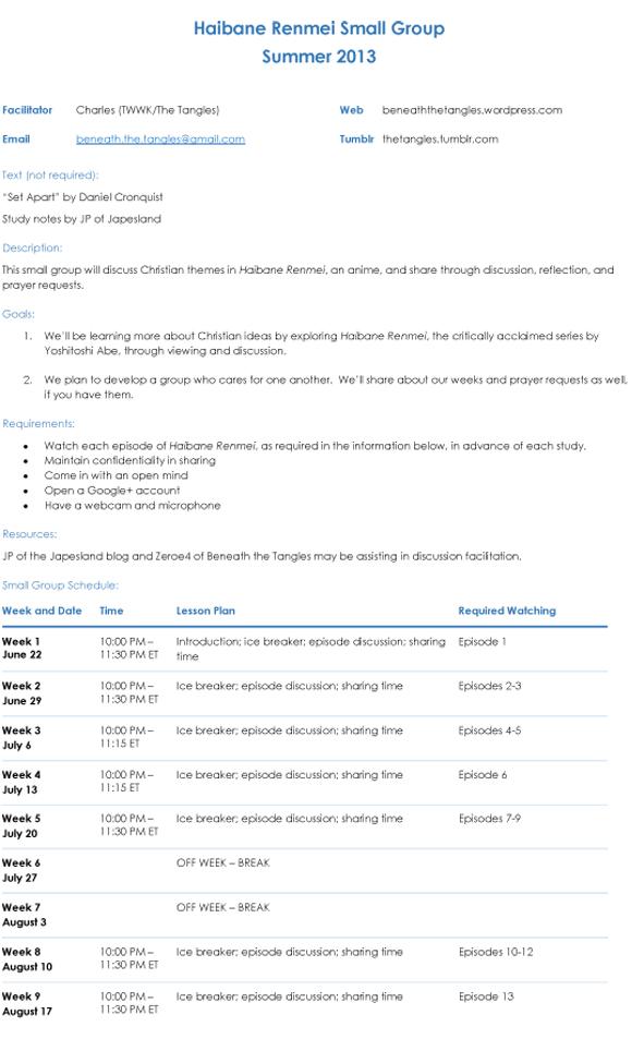 HB Study - Syllabus-1