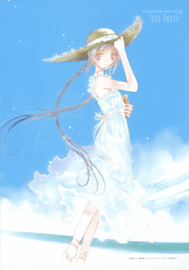 from official Bungaku Shoujo Fantasy Artbook