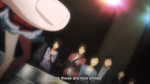 """Brings even more meaning to the Producer's """"egao desu""""."""