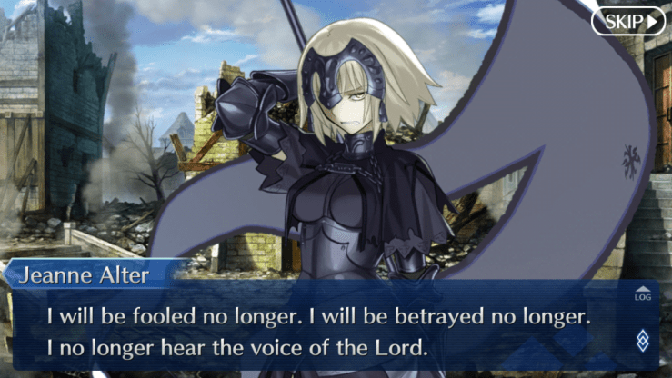 alter jeanne screenshot fate/go