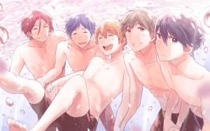 free swimming club boys