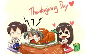 anime thanksgiving
