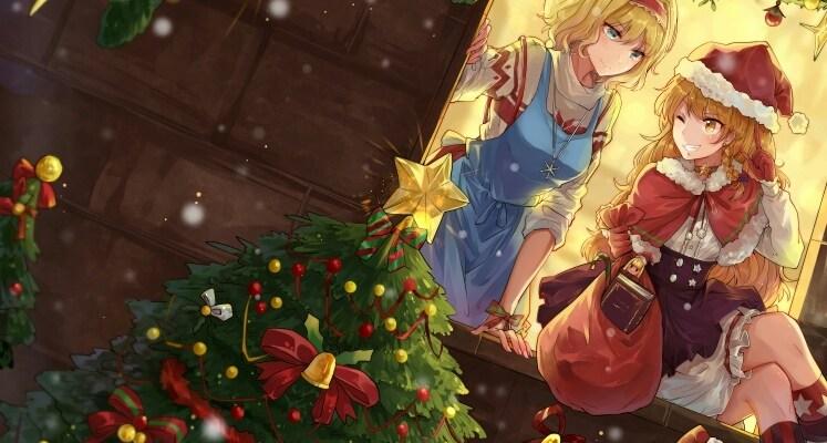 marisa kirisame alice martagroid christmas