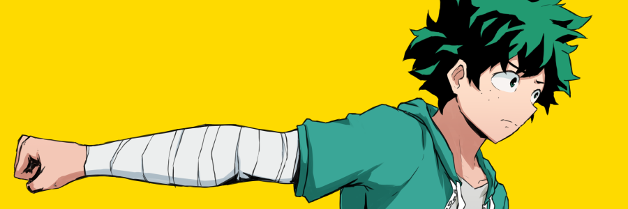 deku punching
