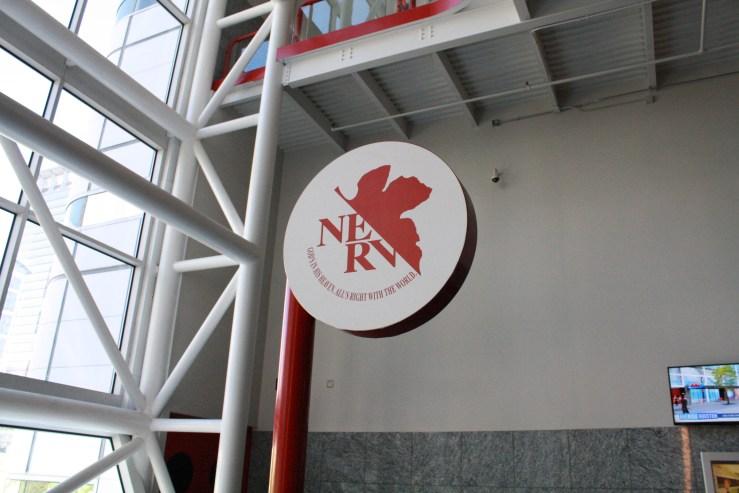 NERV symbol Anime Matsuri