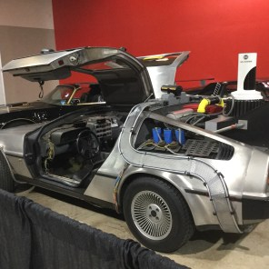 Delorean from Back To The Future.