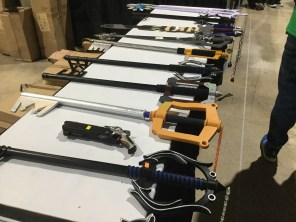 All the keyblades!!!!!