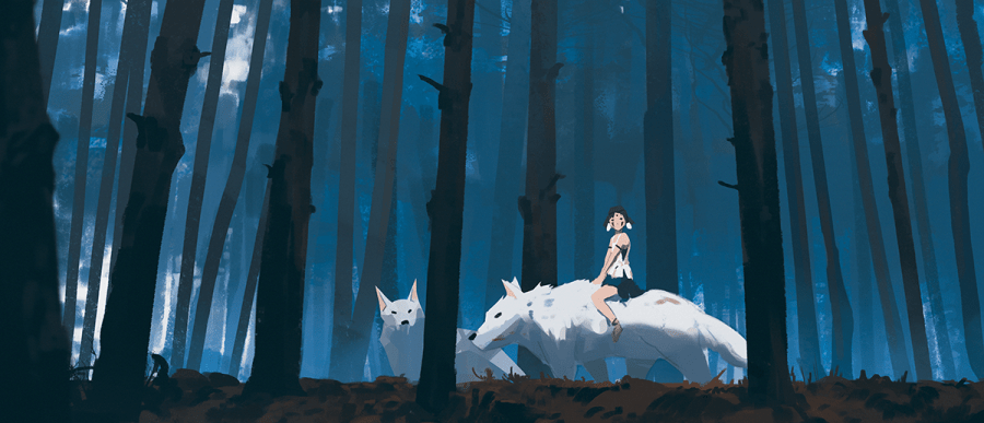 san and wolves