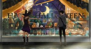 anime witch halloween