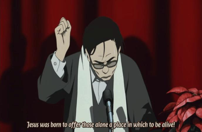 Tokyo Godfathers - Opening sermon snippet
