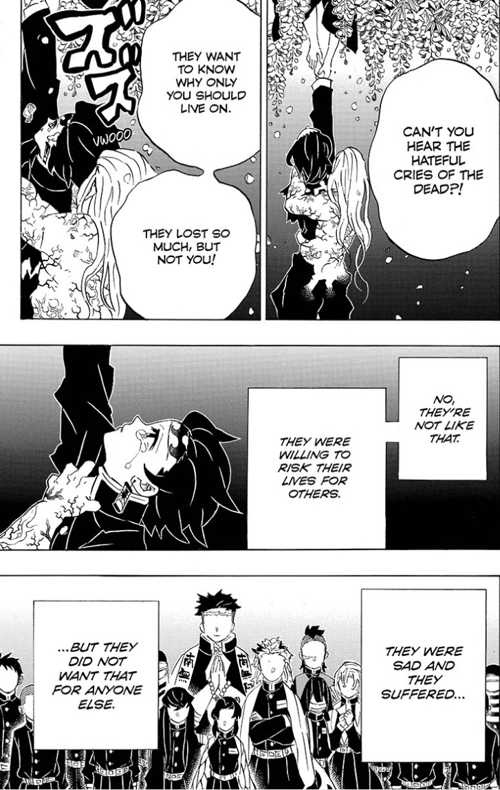 Demon Slayer Chapter 203 Memories Of Home Beneath The Tangles