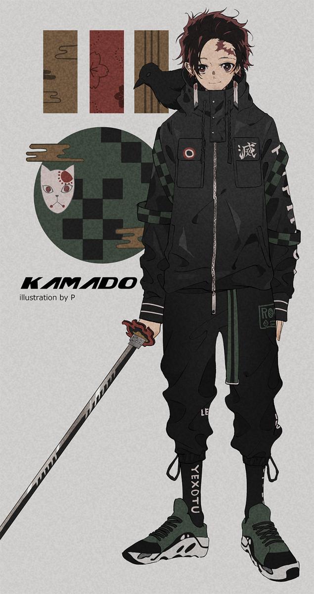 streatwear anime demon slayer tanjirou