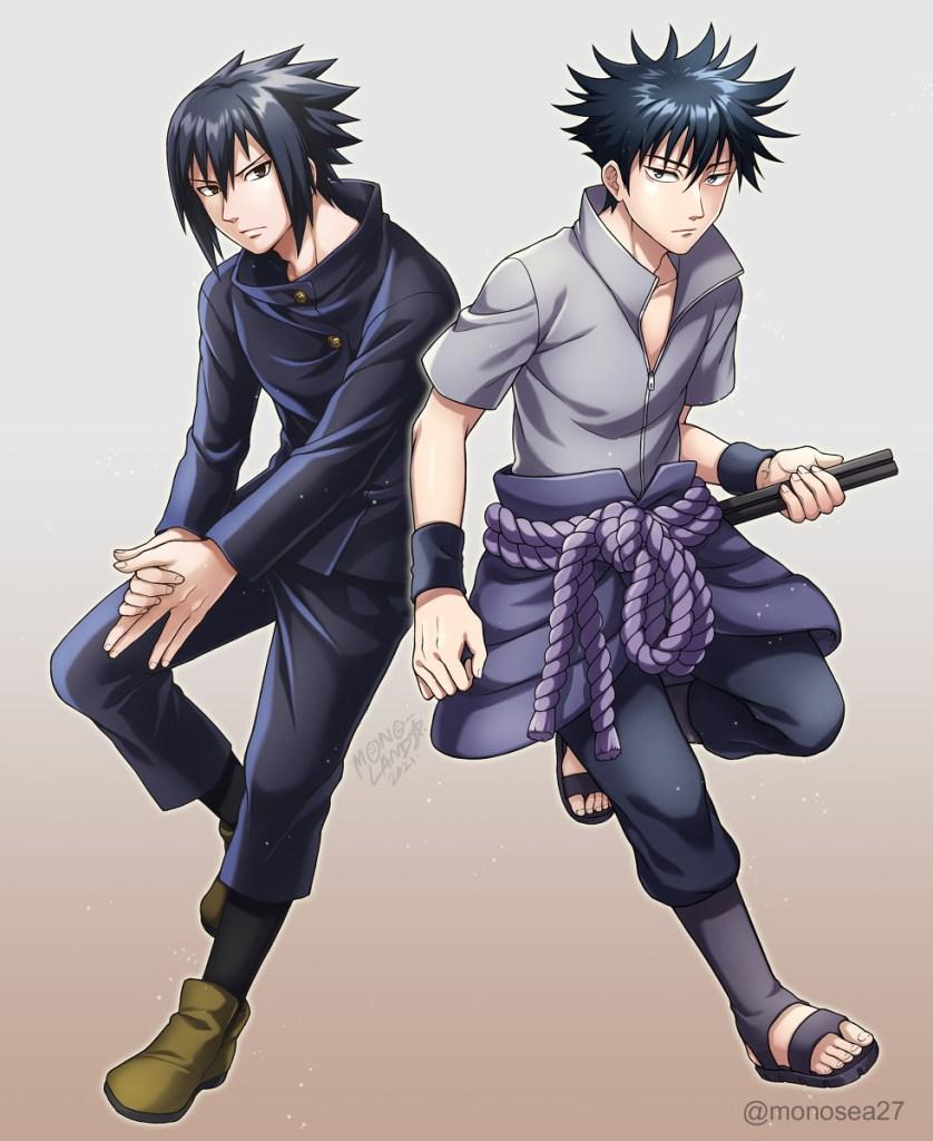 sasuke and megumi fushiguro