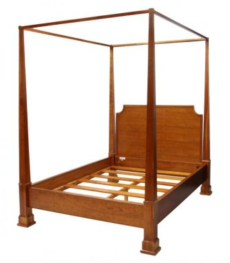 15 Queen Size Canopy Poster Bed
