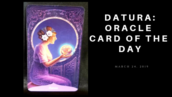 Datura Oracle Card