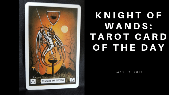 Knight of Wands Dragon Tarot