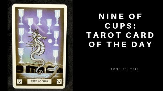 Nine of Cups Dragon Tarot
