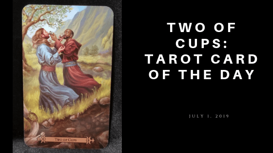 Two of Cups - Tarot Card