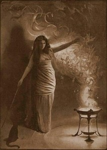 Adept Witch Conjuring