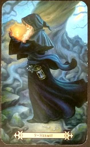 Hermit - Tarot Card