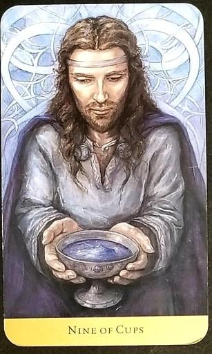 Nine of Cups- Tarot Card