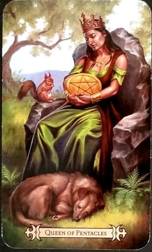 Queen of Pentacles - Tarot Card: