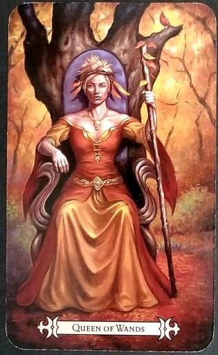 Queen of Wands- Tarot Card