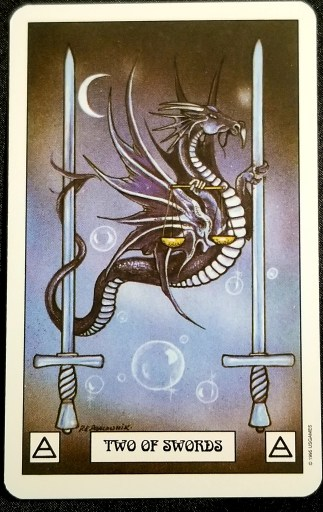 Weekly Tarot Reading- Two of Swords